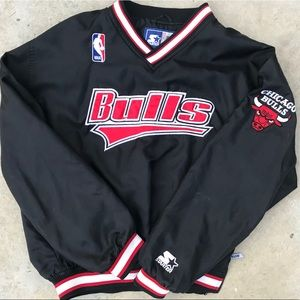 Other - Rare vintage Chicago Bulls Starter jacket size XL